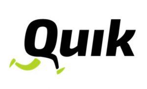 Quik קוויק לוגו