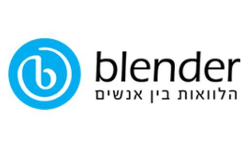 blender בלנדר לוגו