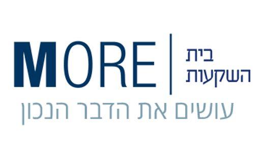 more מור בית השקעות לוגו